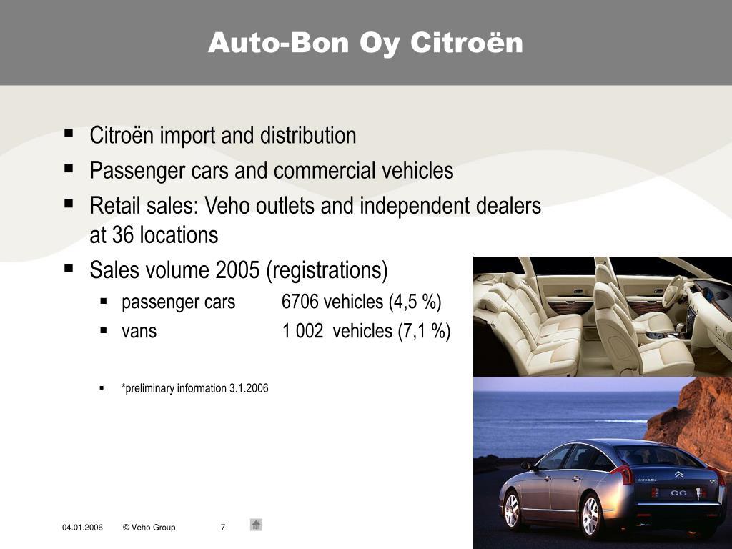Auto-Bon Oy Citroën