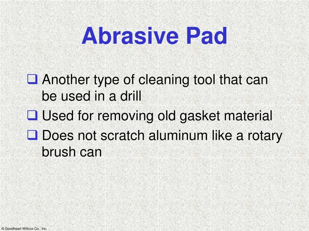 Abrasive Pad