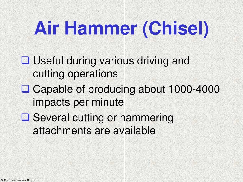 Air Hammer (Chisel)