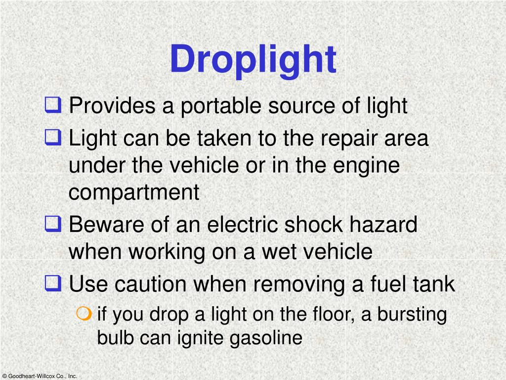 Droplight