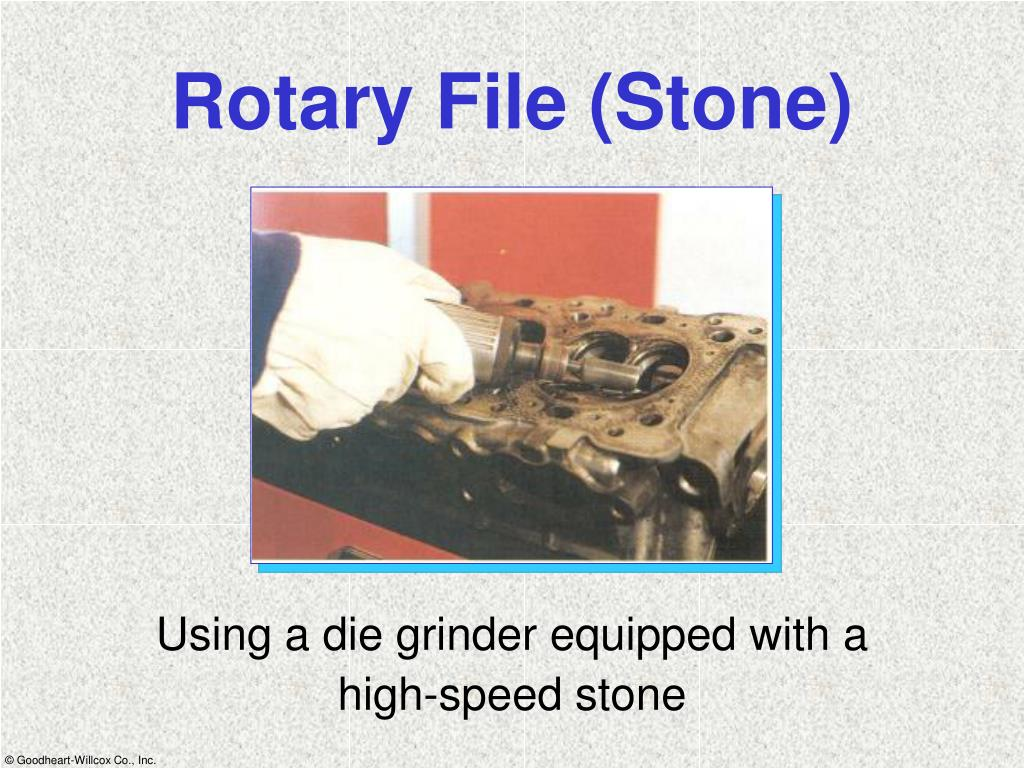 Rotary File (Stone)
