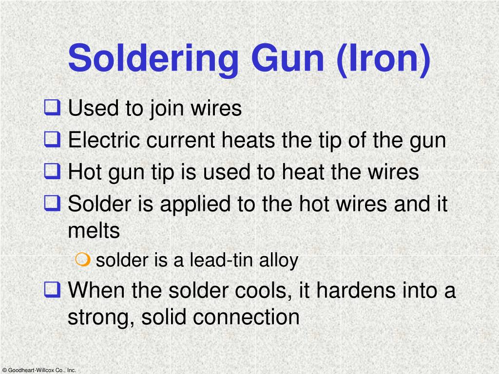 Soldering Gun (Iron)