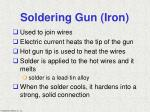 soldering gun iron