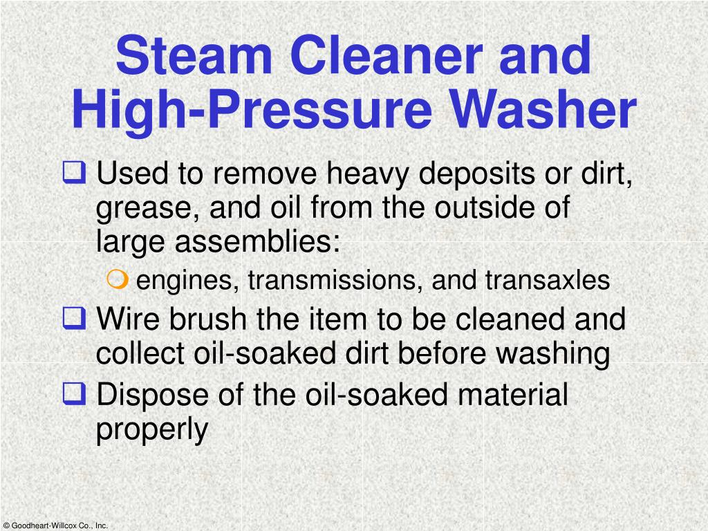 Steam Cleaner and