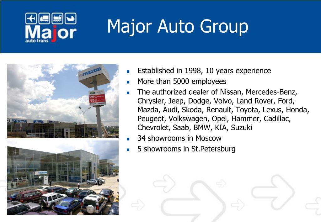 Major Auto Group