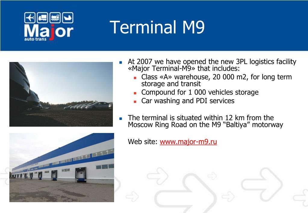 Terminal M9