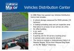 vehicles distribution center