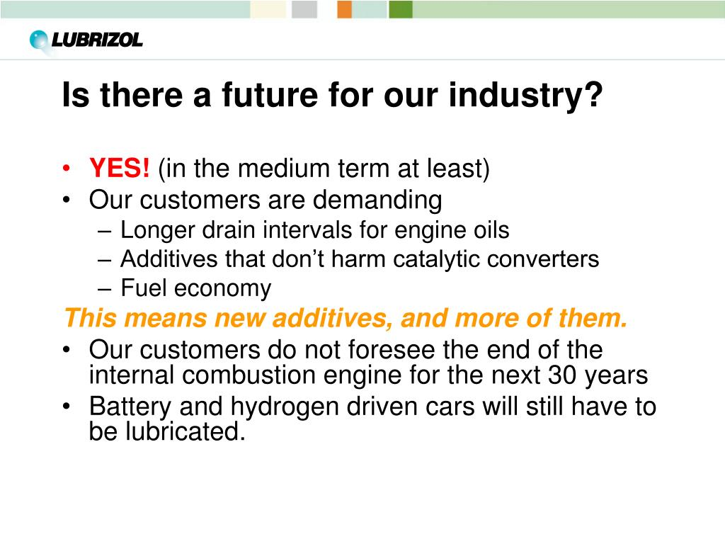 Is there a future for our industry?