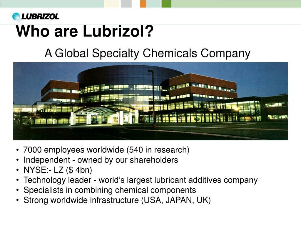 Who are Lubrizol?