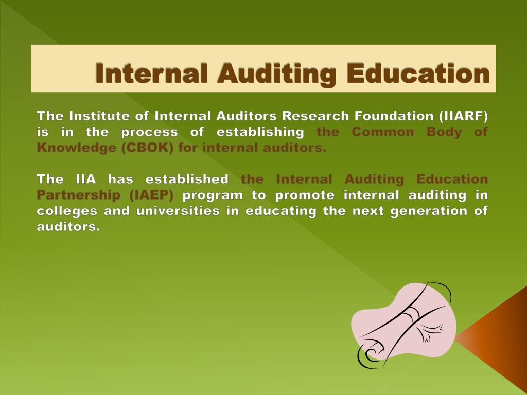 education finance audit appende