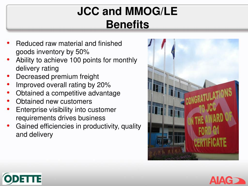 JCC and MMOG/LE