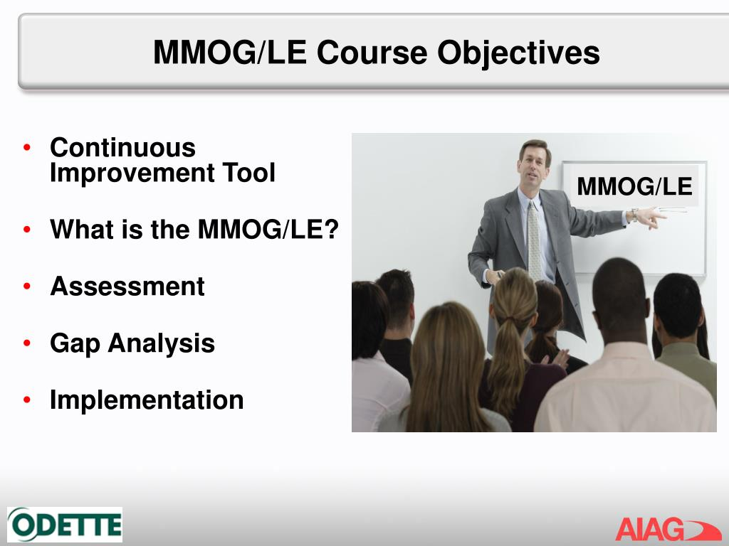MMOG/LE Course Objectives