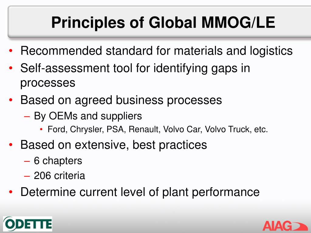 Principles of Global MMOG/LE