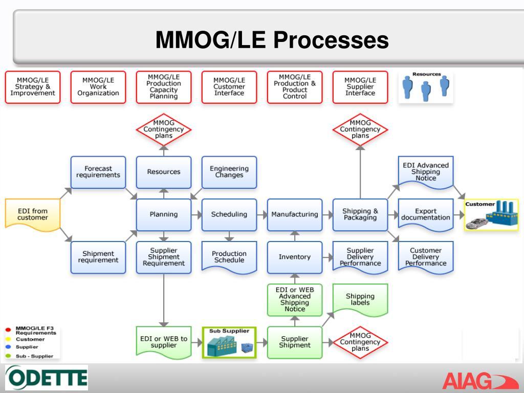 MMOG/LE Processes