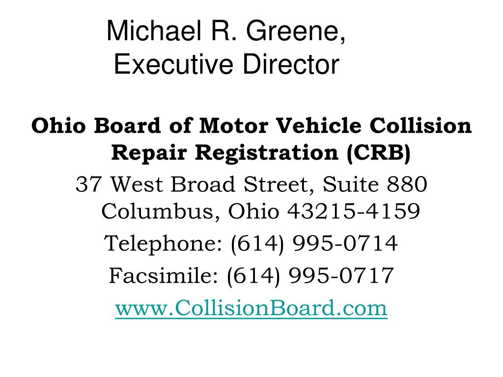 Michael R. Greene,