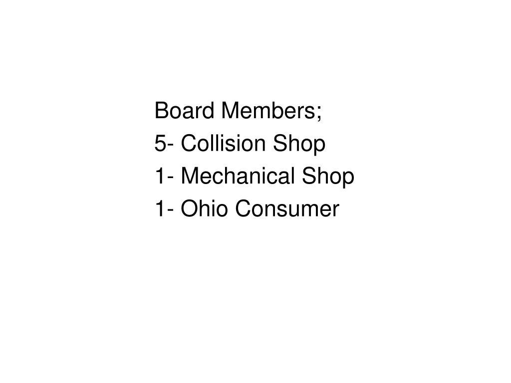 Board Members;