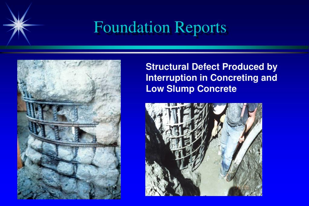 Foundation Reports
