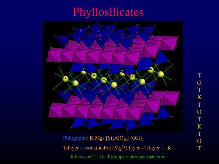 Phyllosilicates