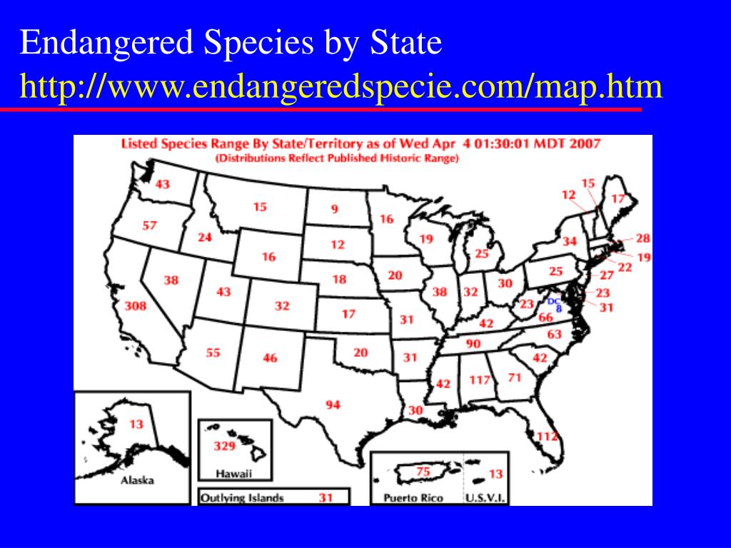 Endangered Species by State