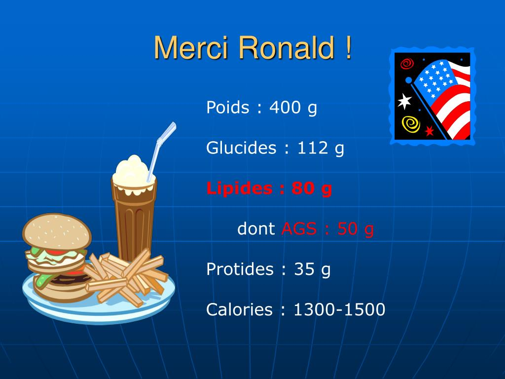 Merci Ronald !