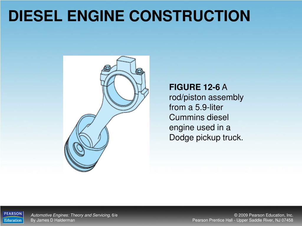 DIESEL ENGINE CONSTRUCTION