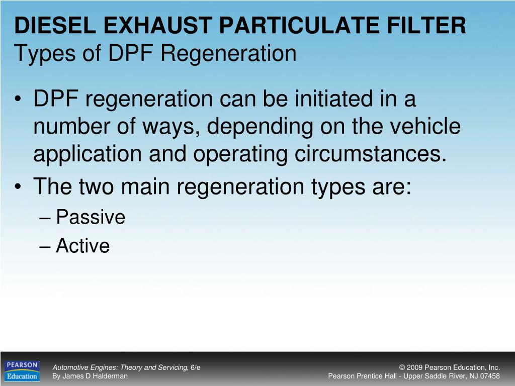 DIESEL EXHAUST PARTICULATE FILTER