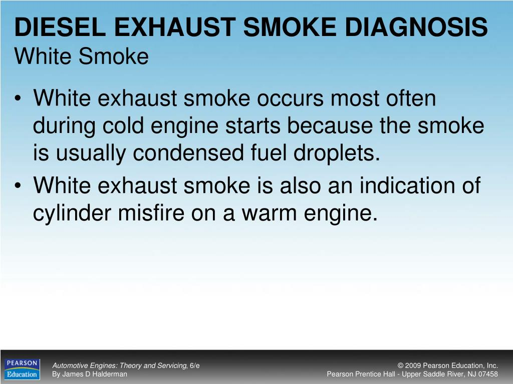 DIESEL EXHAUST SMOKE DIAGNOSIS