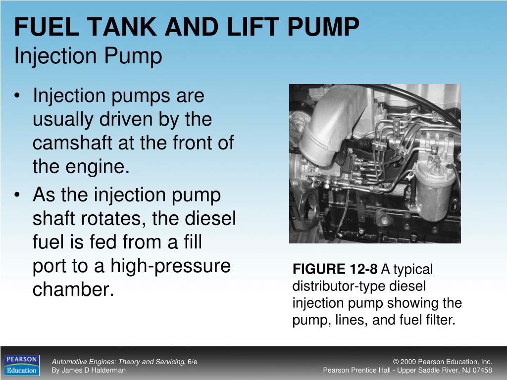 FUEL TANK AND LIFT PUMP