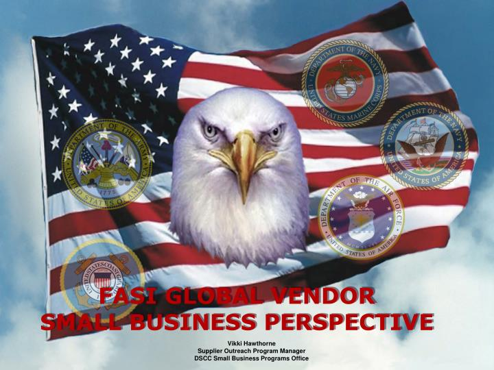 FASI GLOBAL VENDOR