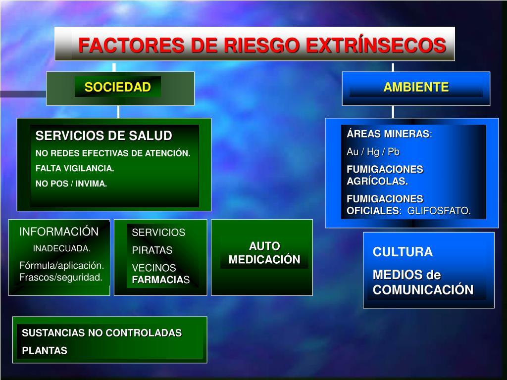 FACTORES DE RIESGO EXTRÍNSECOS