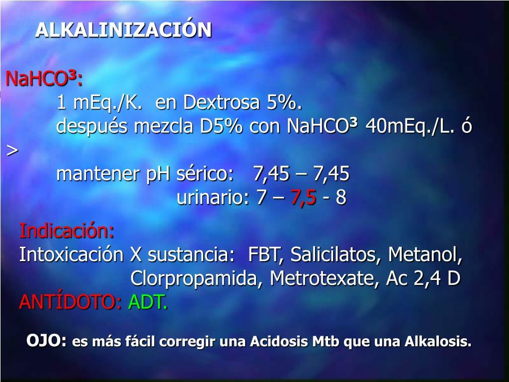 ALKALINIZACIÓN