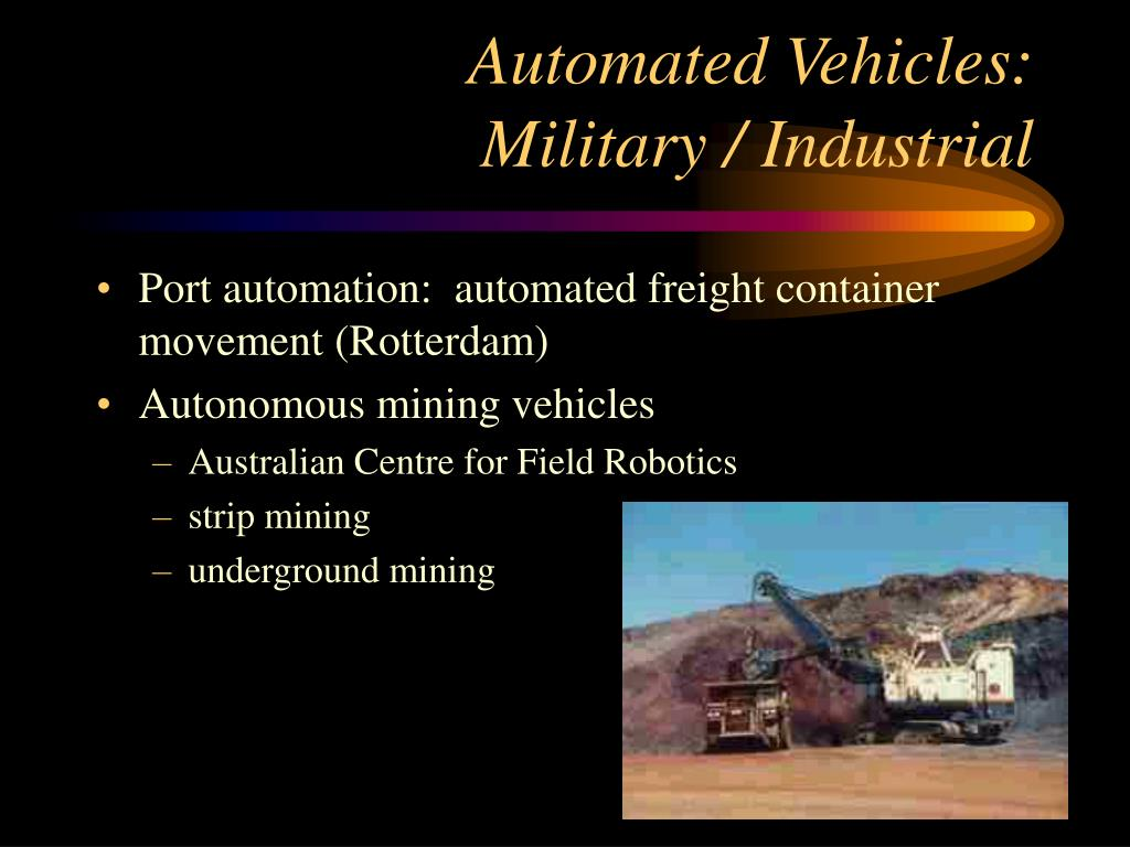 Automated Vehicles: