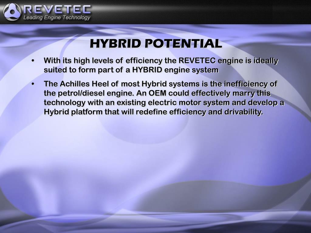 HYBRID POTENTIAL