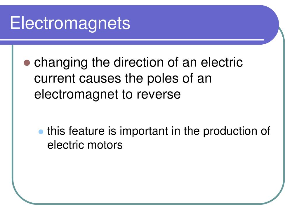 Electromagnets