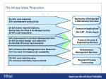 the infosys value proposition