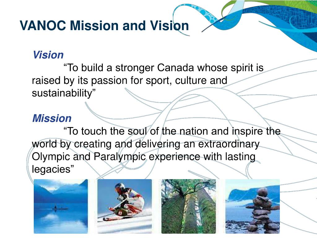 VANOC Mission and Vision