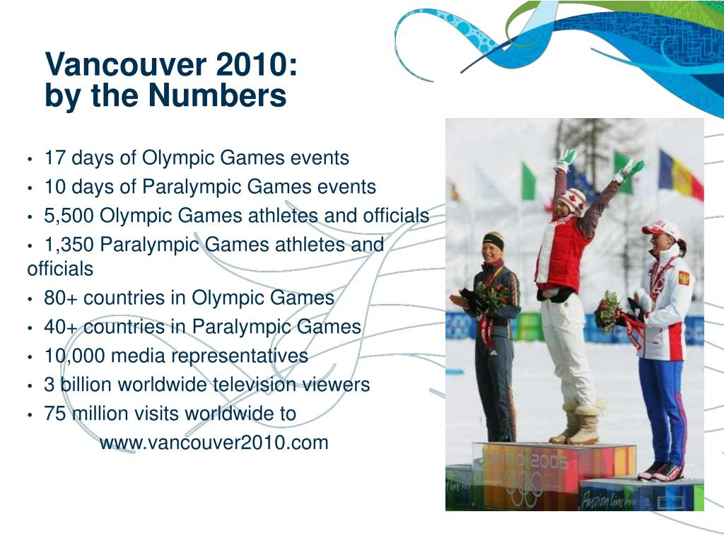 17 days of Olympic Games events