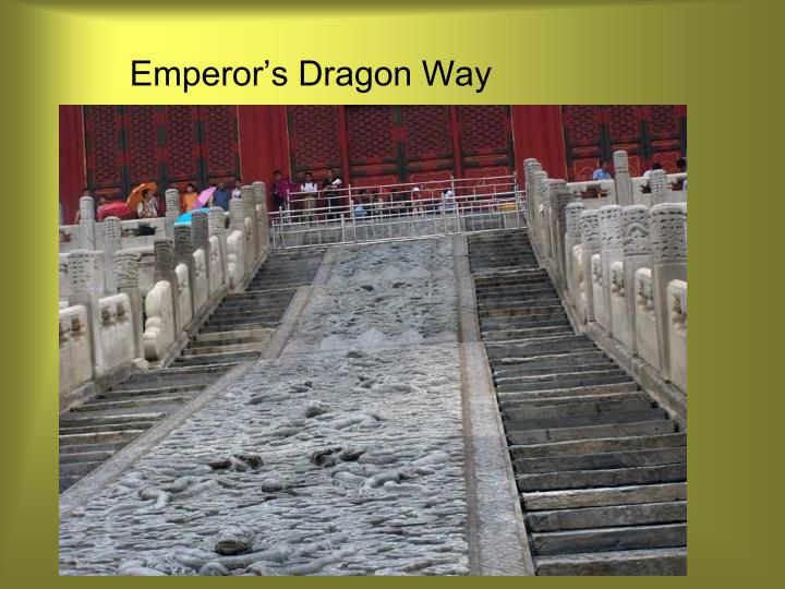 Emperor's Dragon Way