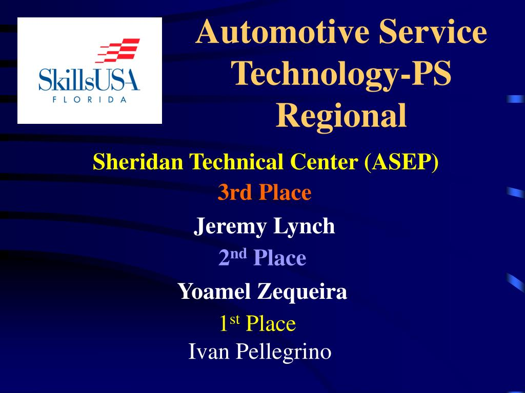 Automotive Service Technology-PS Regional