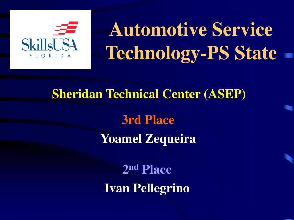 Automotive Service Technology-PS State