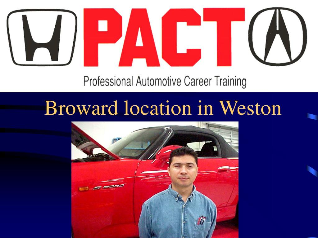 Broward location in Weston