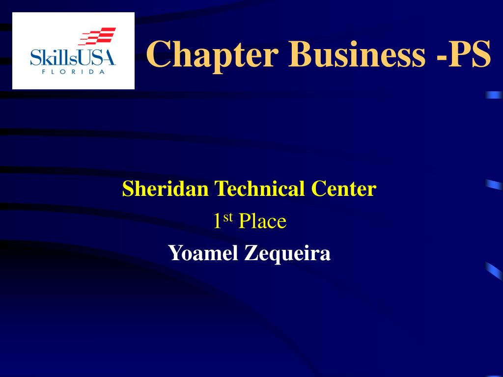 Chapter Business -PS