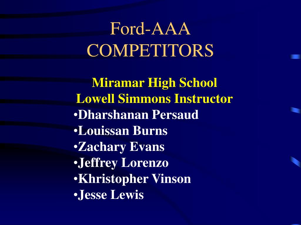 Ford-AAA