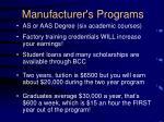 manufacturer s programs15