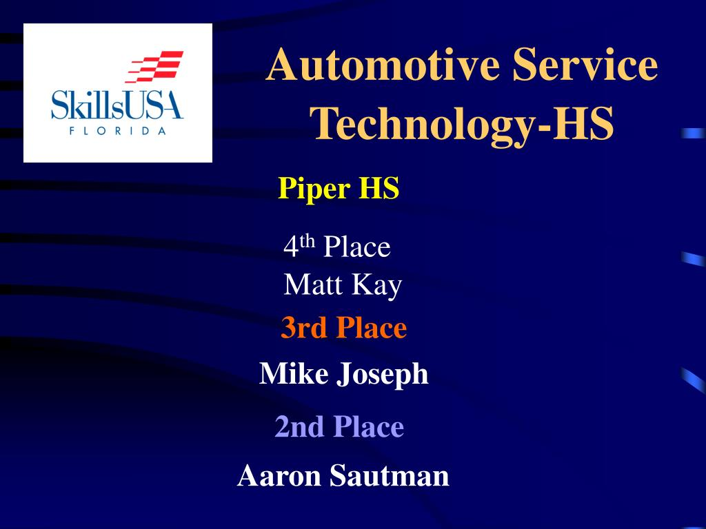 Automotive Service Technology-HS