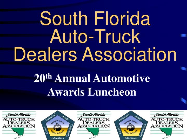 South florida auto truck dealers association