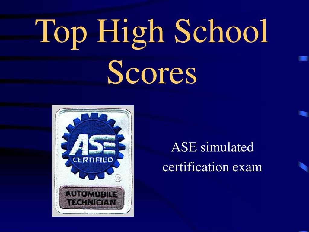 Top High School Scores