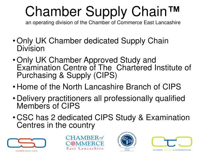 Chamber Supply Chain