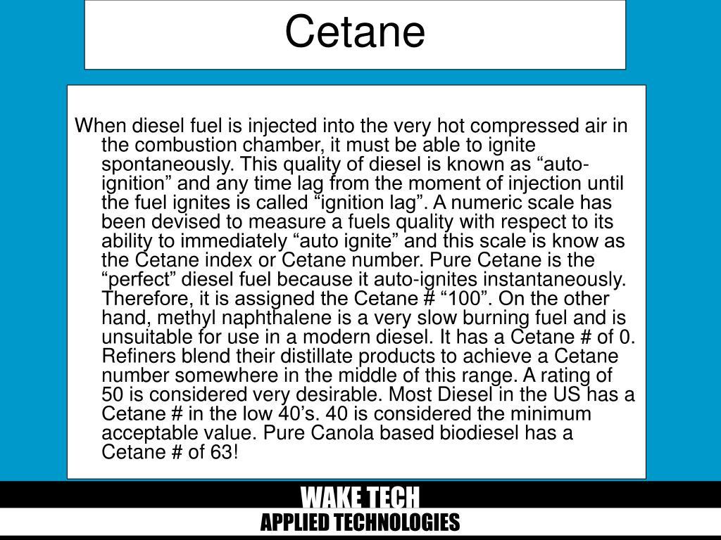 Cetane