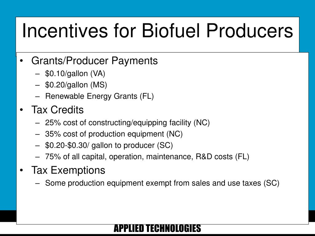 Grants/Producer Payments